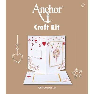 Anchor Craft Kit - Christmas Card