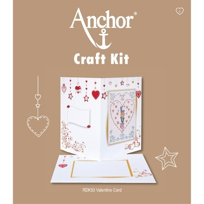Anchor Craft Kit - Valentine Card