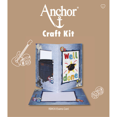 Anchor Craft Kit - Well Done Exams Card