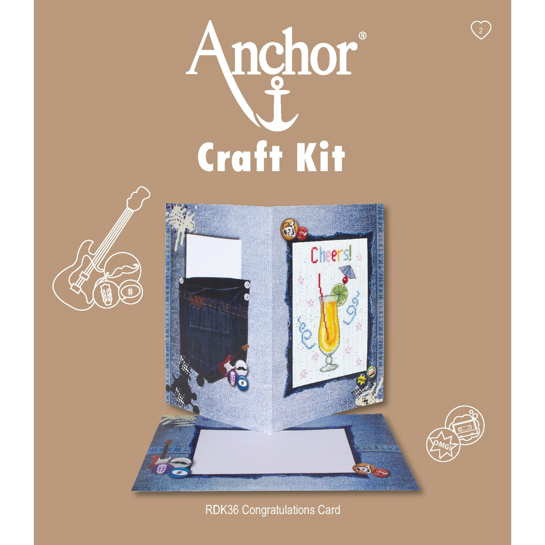 Anchor Craft Kit - Congratulations Card
