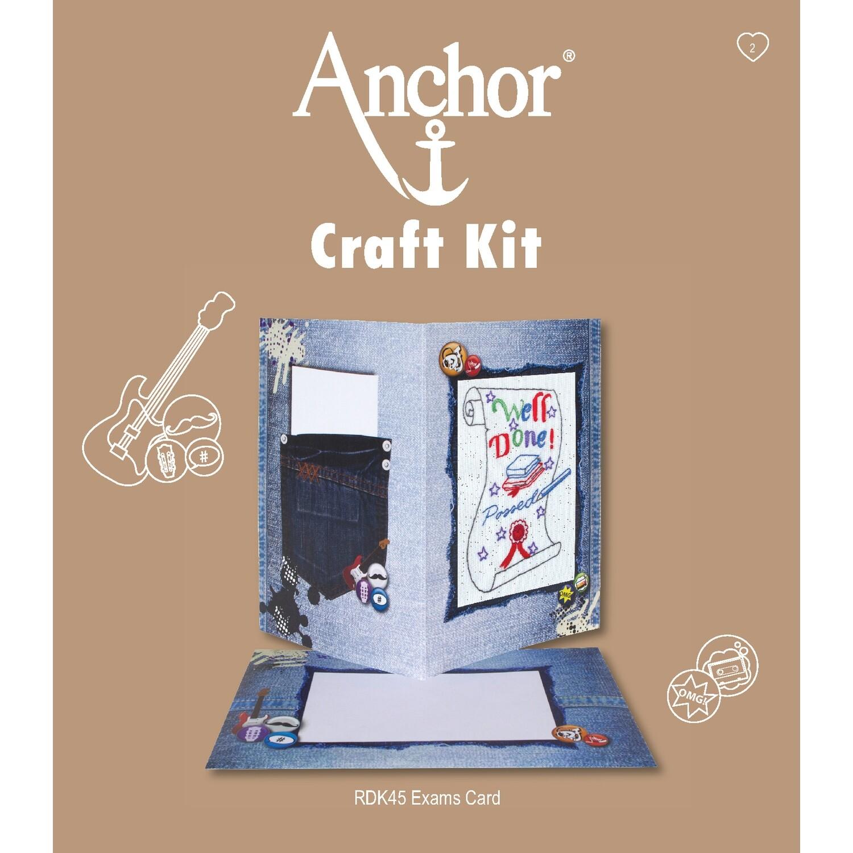 Anchor Craft Kit - Exams Card