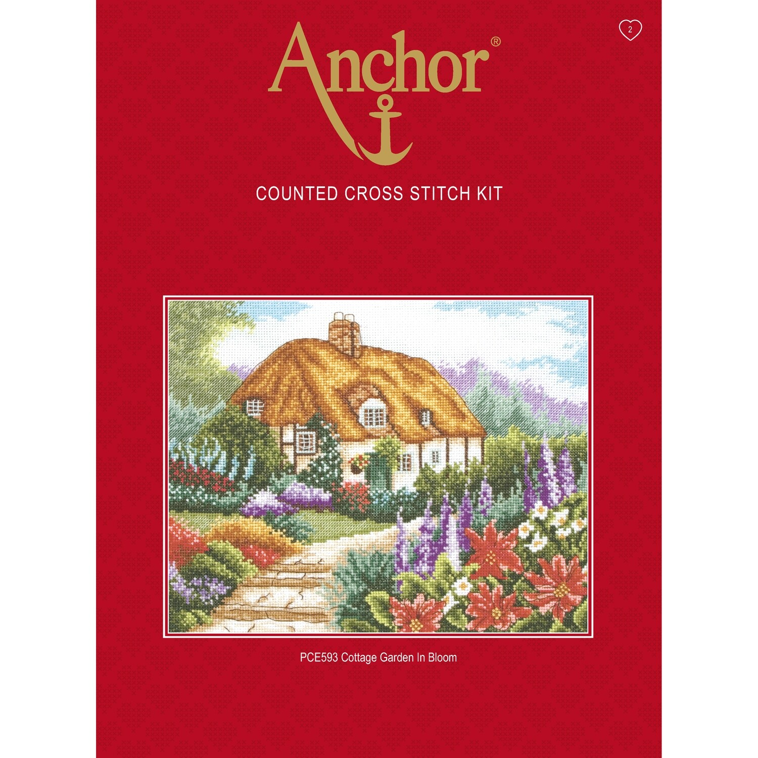 Anchor Essentials Cross Stitch Kit - Christmas Card