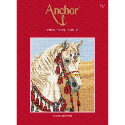 Anchor Essentials Cross Stitch Kit - Arabian Horse