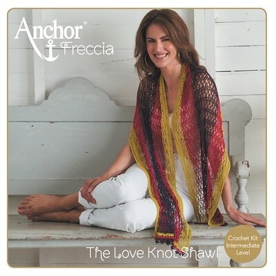 Anchor Crochet Kit - Charming Stole