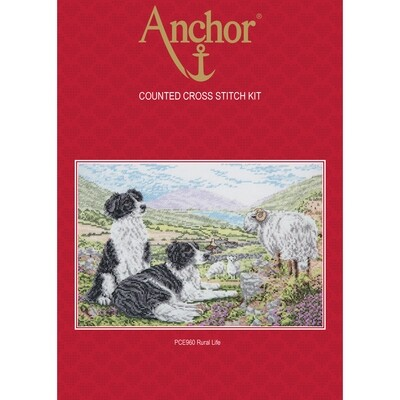 Anchor Essentials Cross Stitch Kit - Rural Life