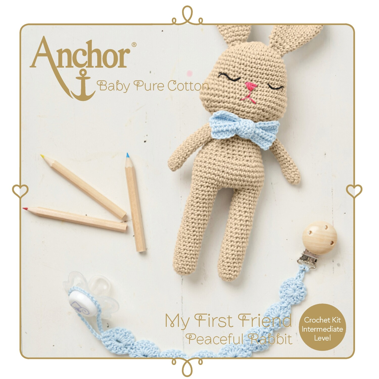 Anchor Baby Pure Cotton Amigurumi Kit - Bunny