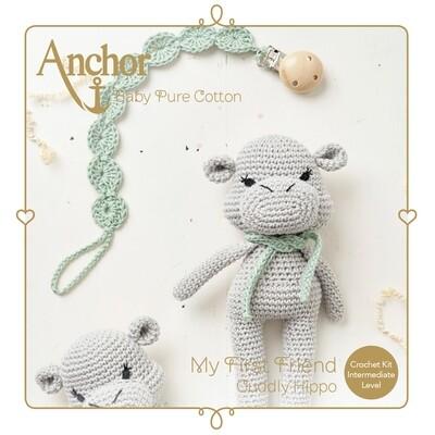 Anchor Baby Pure Cotton Amigurumi Kit - Hippo