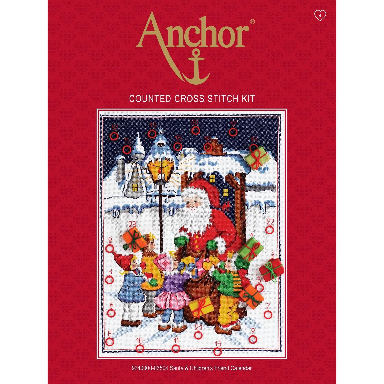 Anchor Essentials Freestyle Kit - Santa & Children Calendar