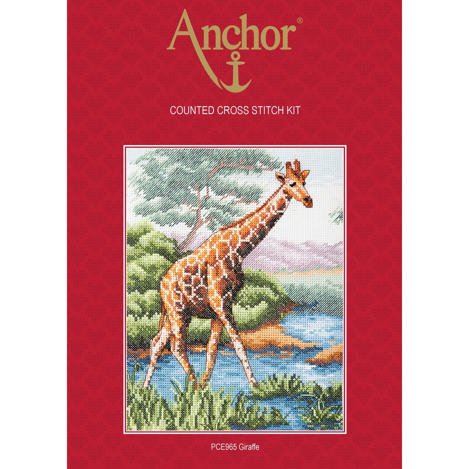 Anchor Essentials Cross Stitch Kit - Giraffe