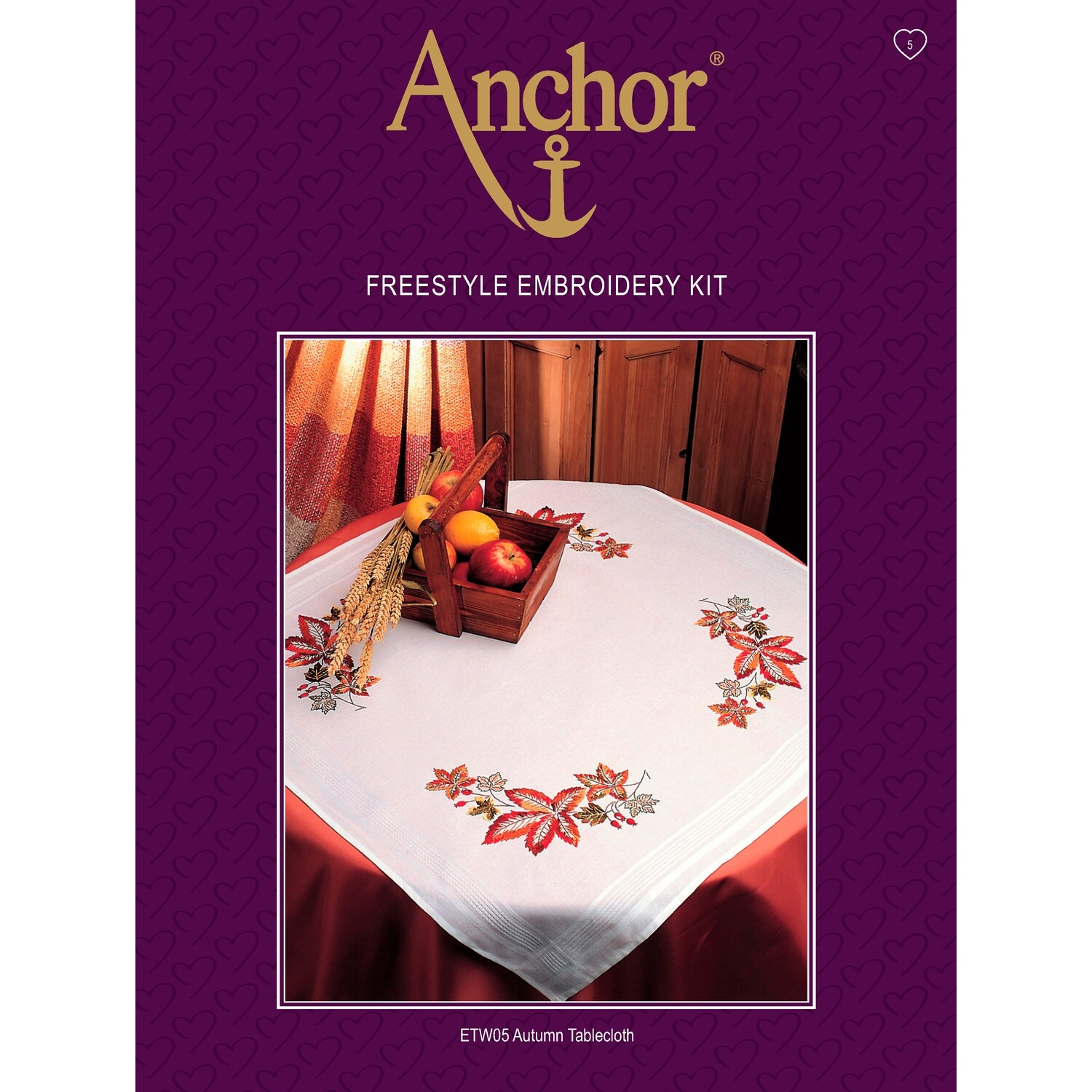 Anchor Essentials Freestyle Kit - Autumn Tablecloth
