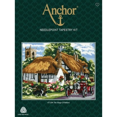 Anchor Essentials Tapestry Kit - The Village of Welford
