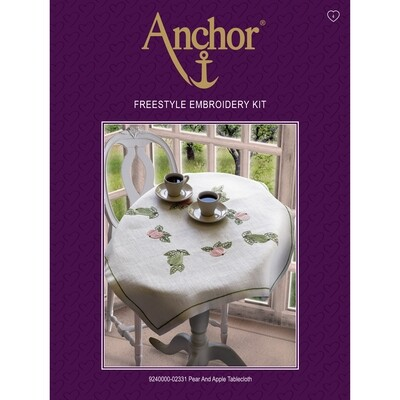 Anchor Essentials Freestyle Kit - Pear & Apple Tablecloth