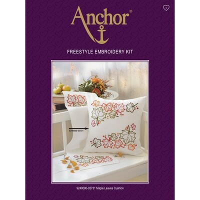Anchor Essentials Freestyle Kit - Maple Leaves Cushion