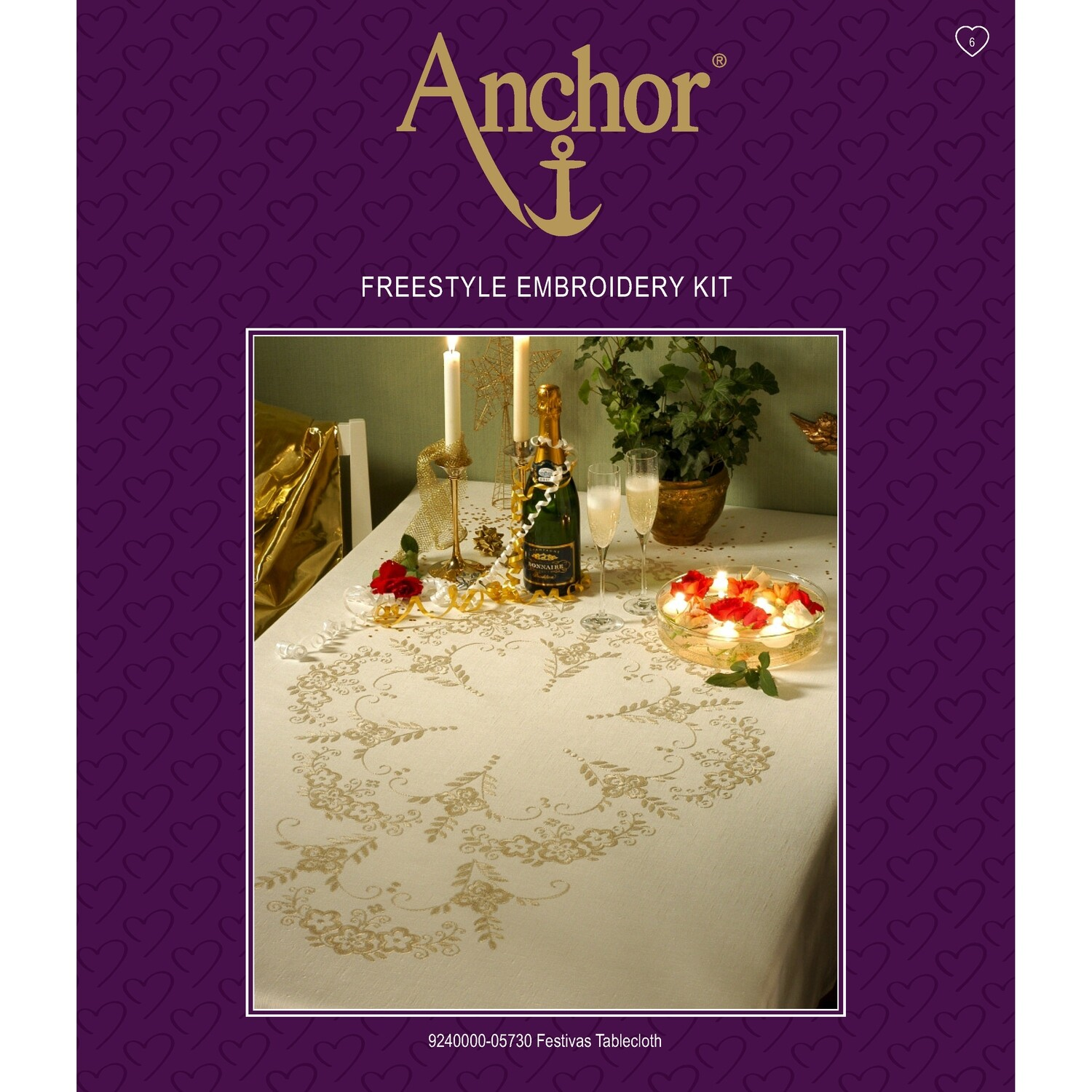 Anchor Essentials Freestyle Kit - Festive Tablecloth