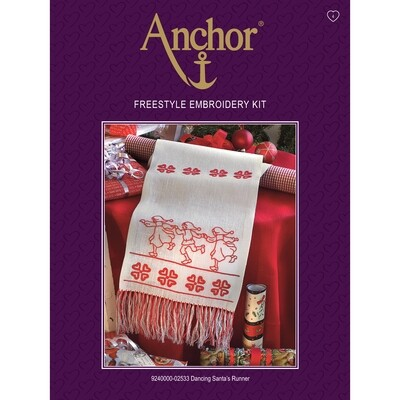 Anchor Essentials Freestyle Kit - Dancing Santa's Runner