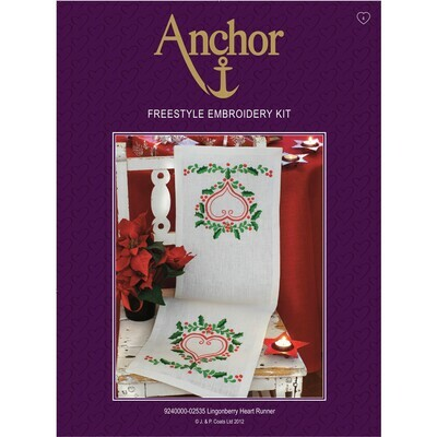 Anchor Essentials Freestyle Kit - Lingonberry Runner
