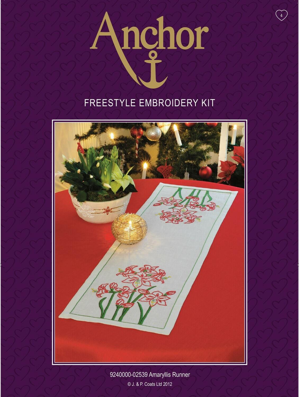 Anchor Essentials Freestyle Kit - Amaryllis Runner