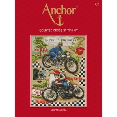 Anchor Essentials Cross Stitch Sampler - Isle of Man TT