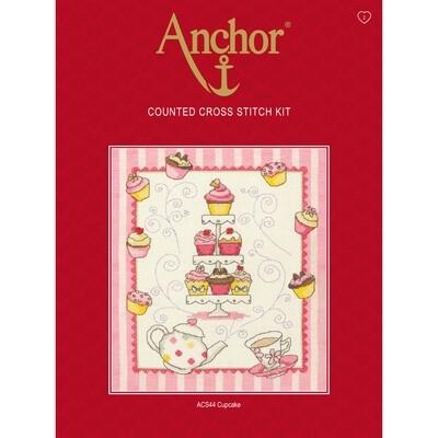 Anchor Essentials Cross Stitch Kit - Cupcake Sampler