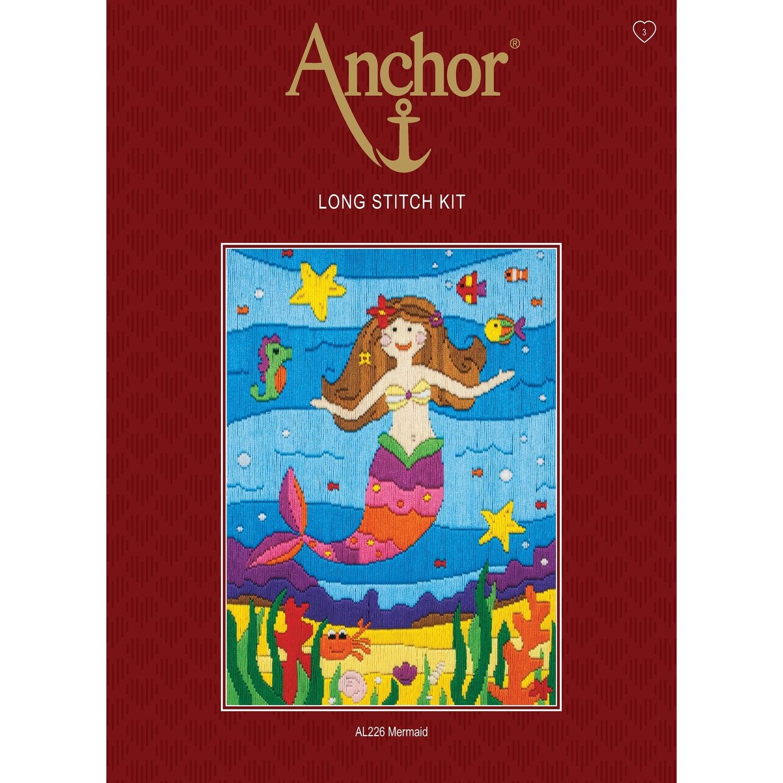 Anchor Starter Long Stitch Kit - Mermaid