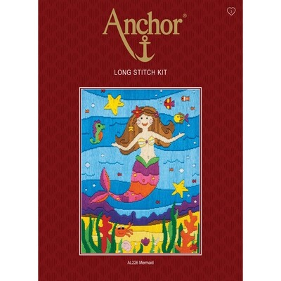 Anchor Starter Long Stitch Kit - Mermaid