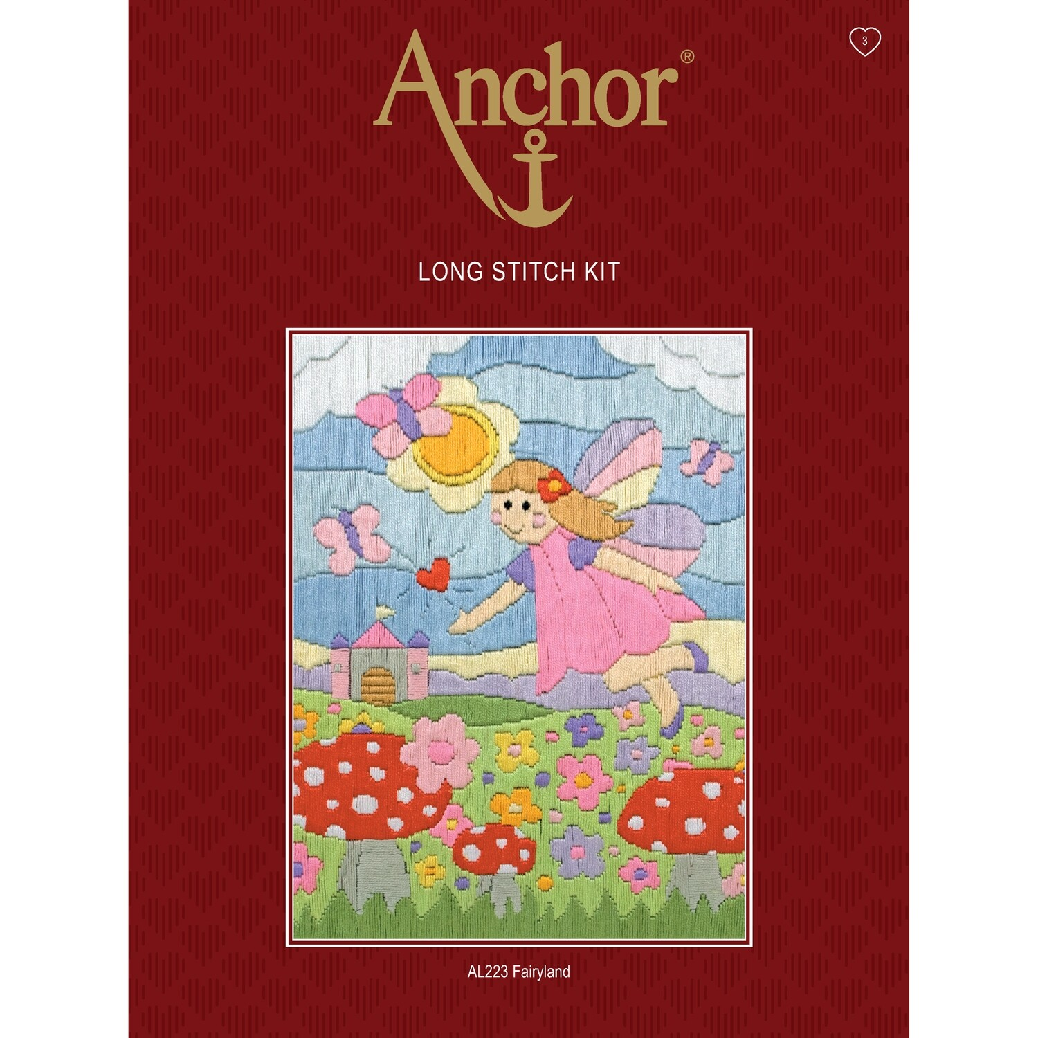 Anchor Starter Long Stitch Kit - Fairy Land