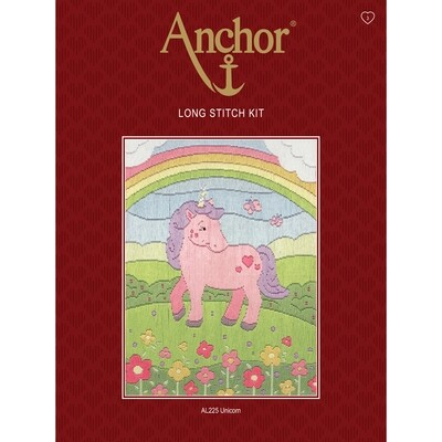 Anchor Starter Long Stitch Kit - Unicorn