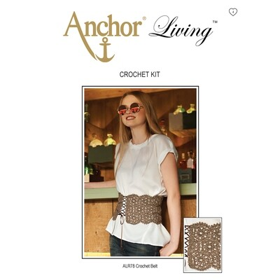 Anchor Living Kit Crochet Kit - Crochet Belt