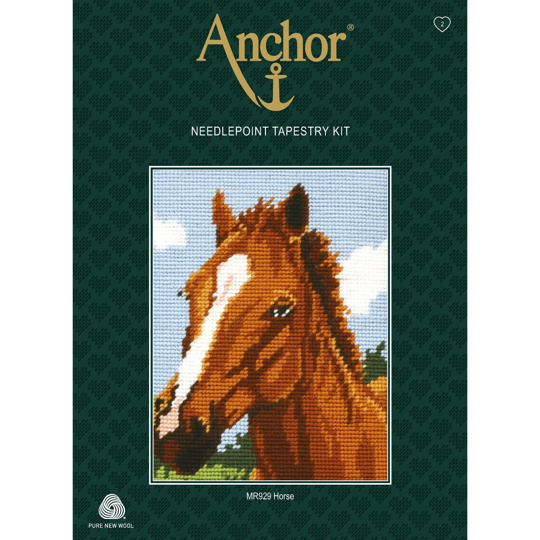 Anchor Starter Tapestry Kit - Horse