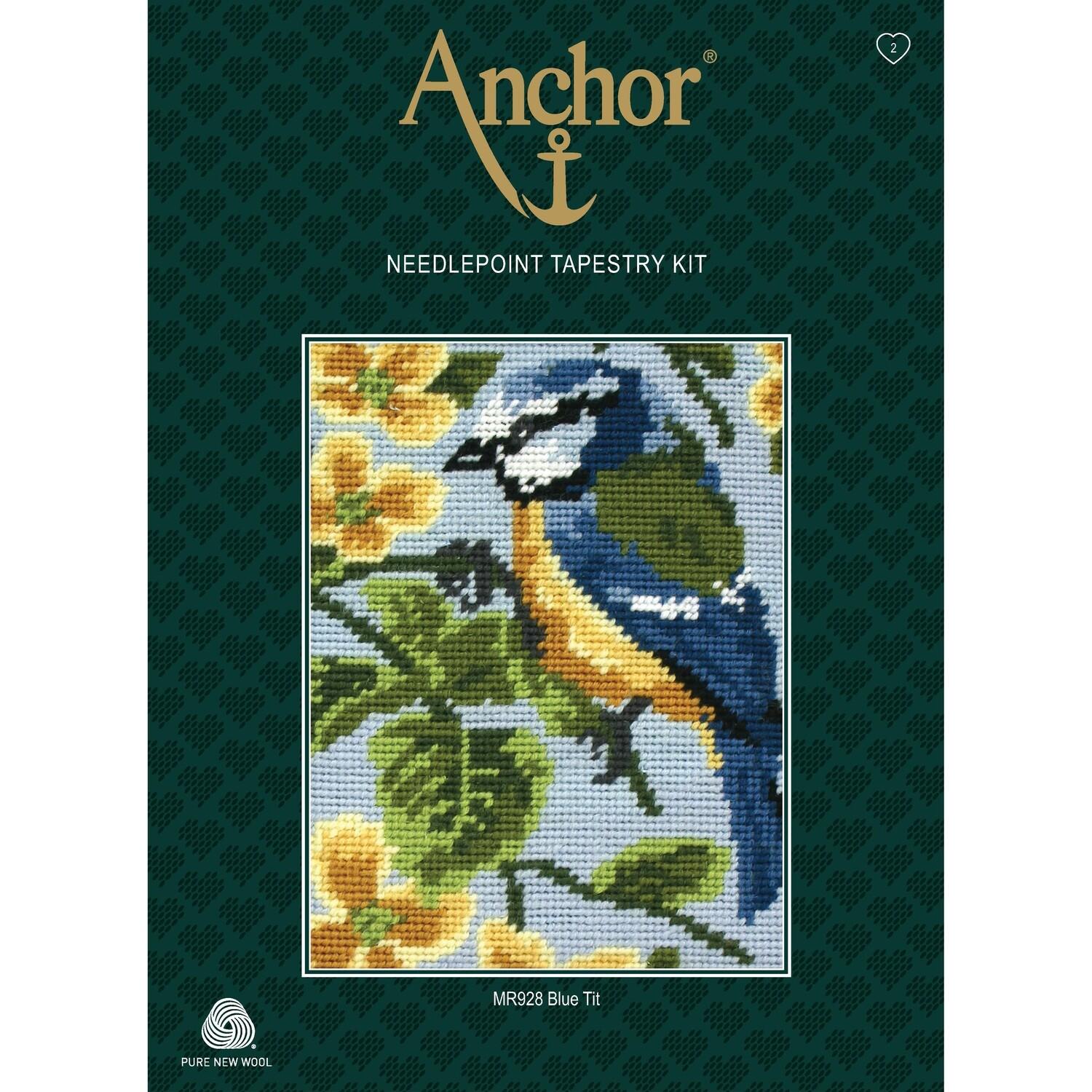 Anchor Starter Tapestry Kit - Blue Tit