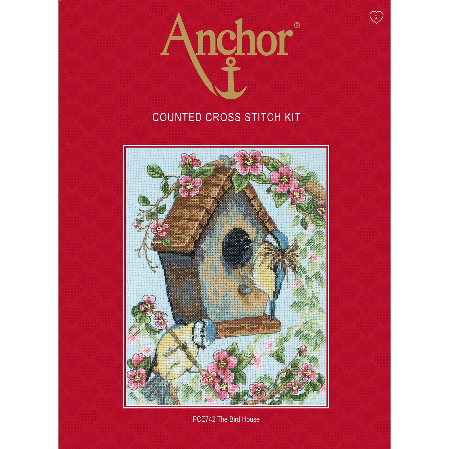 Anchor Essentials Cross Stitch Kit - The Bird House