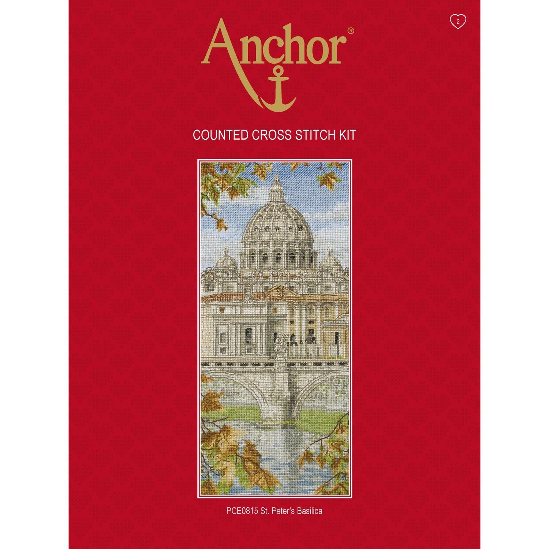 Anchor Essentials Cross Stitch Kit - St. Peter's Basilica