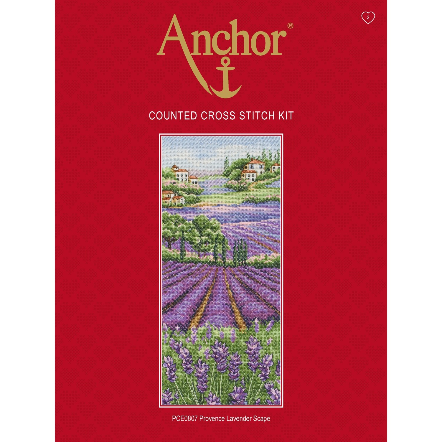 Anchor Essentials Cross Stitch Kit - Provence Lavender