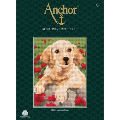 Anchor Starter Tapestry Kit - Labrador Puppy