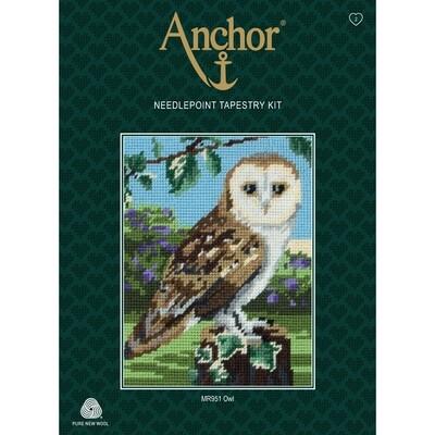 Anchor Starter Tapestry Kit - Owl