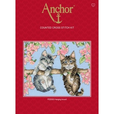 Anchor Essentials Cross Stitch Kit - Hanging Around