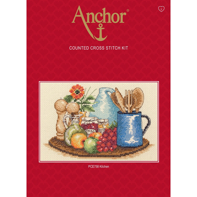 Anchor Essentials Cross Stitch Kit - Kitchen