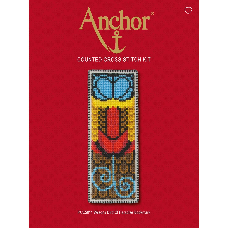 Anchor Essentials Cross Stitch Kit - Bird of Paradise Bookmark