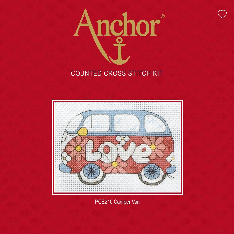 Anchor Essentials Cross Stitch Kit - Camper Van