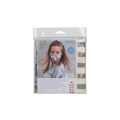 DIY Sewing Kit - 3 Community Masks (3 Beach Days Collection Prints)
