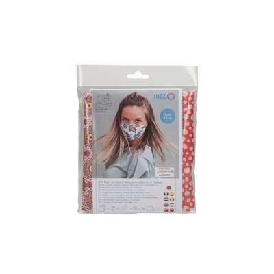 DIY Sewing Kit - 3 Community Masks (3 Mandala Fantasy Collection Prints)