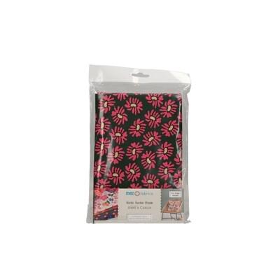 Pre-Cut Cotton - Arne & Carlos - Nordic Garden Dream - Solhatt-Red (100 x 145 cm)