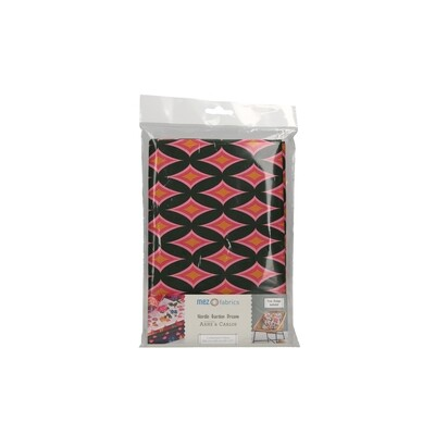 Pre-Cut Cotton - Arne & Carlos - Nordic Garden Dream - Blomstereng-Red (100 x 145 cm)