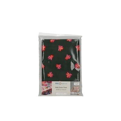 Pre-Cut Cotton - Arne & Carlos - Nordic Garden Dream - Sverdlilje-Red (100 x 145 cm)