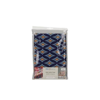 Pre-Cut Cotton - Arne & Carlos - Nordic Garden Dream - Blomstereng-Blue (100 x 145 cm)