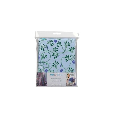 Pre-Cut Cotton - Dee Hardwicke - Clematis - Blue (100 x 145 cm)