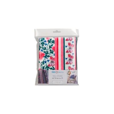 Pre-Cut Cotton - Dee Hardwicke - Early Spring Flower - Poppy (100 x 145 cm)