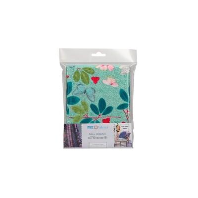 Pre-Cut Cotton - Arne & Carlos - Nordic Garden Dream - Spring Blossom - Green (100 x 145 cm)