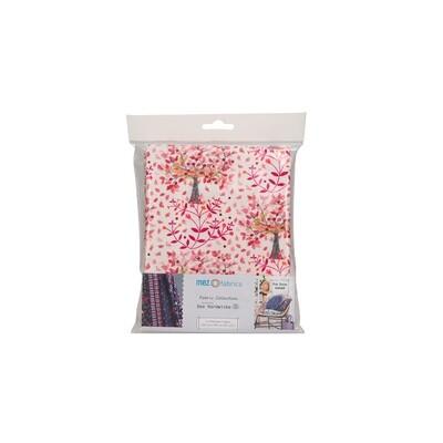 Pre-Cut Cotton - Dee Hardwicke - Hare & Pimpernel - Red (100 x 145 cm)