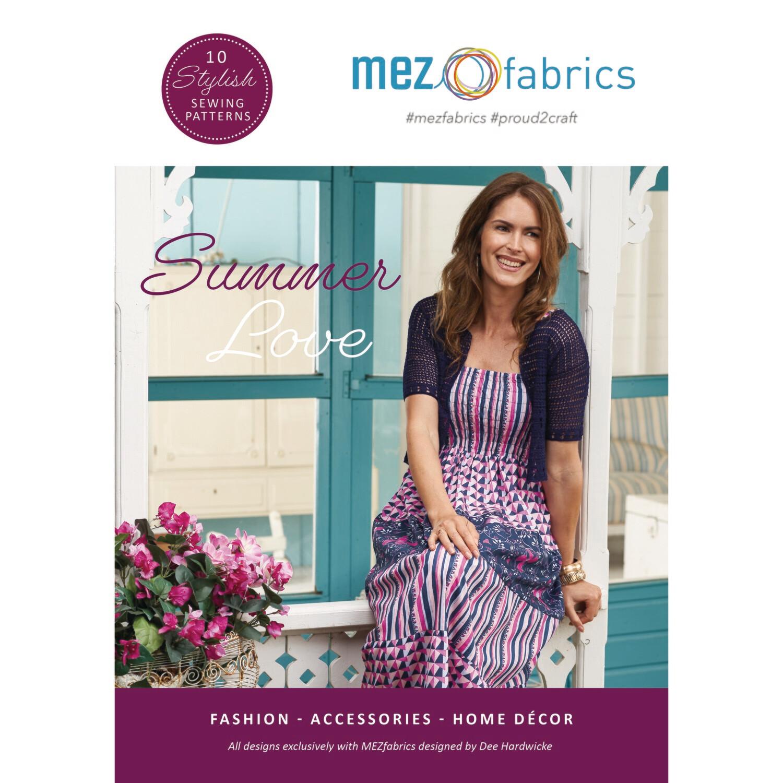 MEZfabrics Summer Love Sewing Magazine - English